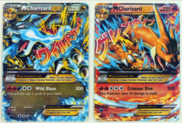 10 lots Flash card ALL MEGA 18 pcs poke cards EX Charizard Venusaur Blastoise For children Gift English Card FREE SHIPPING