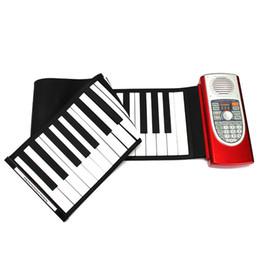 2017 enrollar 61 teclas Venta al por mayor de E-Word 61 teclas Midi rueda para arriba el piano electrónico portátil con el teclado Mini S2018 enrollar 61 teclas oferta