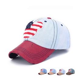 Fashion Designer Cowboy Baseball Caps Washed Denim Cotton Hats Adjustable Strapback Curved Spring Summer Golf Sun Visor For Mens And Womens
