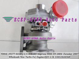 TD04L 49377-04505 49377-04502 49377-04504 14412AA4560 Turbocharger Turbo For SUBARU Impreza WRX STI 04- Forester 2007 EJ25 2.5L
