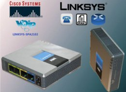 Wholesale Orignal Unlocked Linksys SPA2102 VoIP adapter with router VoIP gate way with retailbox Cheap adapter ds