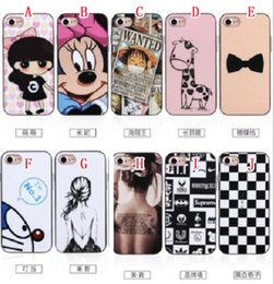 Wholesale For Samsung Galaxy NOTE7 NOTE Iphone PLUS G NEO Bumblebee Soft TPU PC Bumper Case Hybrid Tough Cartoon Mickey Doraemon Remix Skin Cover