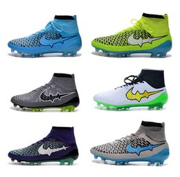 Wholesale 2016 Best Quality Magista Obra ACC Soccer Shoes Popular New High Ankle Football Boots Magista Superfly Sports Football Shoes On Sale