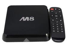 Definición entorno en Línea-ACTUALIZADO EM8 Amlogic S802quad-core androide TV BOX alta definición de la red de televisión set-top BOX mini PC de control remoto