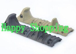 Wholesale TacticaL Hand Stop Kit serves for airsoft Modular Full Profile Picatinny Rail Cover Polymer grip BK DE