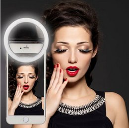 Wholesale Raphycool LED Ring Selfie Light Supplementary Lighting Night or Darkness Selfie Enhancing for Photography with Iphones and Android Smart
