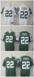 Wholesale Matt Forte New Draft Pick Men Jets Jerseys White green Elite Football Jerseys Stitched Name Number Free Drop Shipping Mix Order