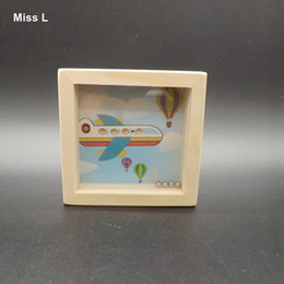 Funny Plane Wooden Round Balls Balance Maze Toys Best Gifts For Kids Educational Game Mind Teaching