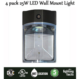 Wholesale New pack W LED Park Light wall Mount Light Outdoor Entrance Security Light Years Warranty Replace w to w Ul CUL Dlc