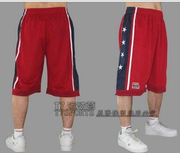 NEW 2016 fashion Summer brand Design Team USA basketball shorts men sports Knee Length training joggers prastice running shorts