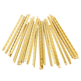 19pcs Classical Guitar Copper Fret Wire Fretwire Sets For 2.2mm Gold