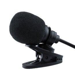 Wholesale Clip On Lapel Instrument Mic Microphone mm Plug MP4 Cellphone Tablet Studio Speech Desktop Laptop Cheap laptop cleaner