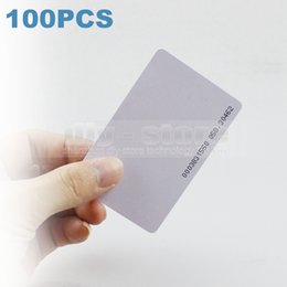 100pcs lot 125Khz RFID Proximity ID Cards for Access Control   Time Clock Use for Access Control System