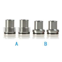 Stainless Steel RDA Drip tip Chuff Enuff Drip Tip POM Cap Universal Big Vape Tobh Atty Drip Tips For 22mm Atty Tobh RDA