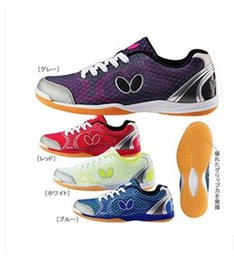 Wholesale Summer Men s women s Butterfly Table Tennis Ball Shoes breathable sports professional shoes Colors size