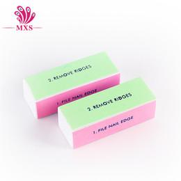 Wholesale High Quality nail file Way Buffer Block Shine File Polish Nail Art Professional Beauty Tool pc