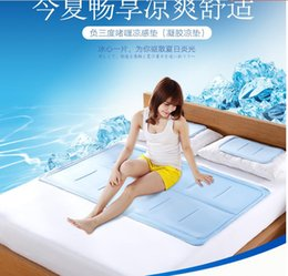Wholesale best cm large set ice cooling gel material pads mat cover sheets topper mattress for beds beddinng set hot summer cooler