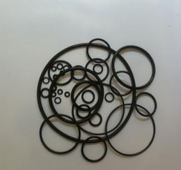Black O-Ring Seals NBR70A ID26.34,27.94,29.51,31.12,32.69,34.29,37.47,40.64,43.82,46.99mm*C S5.33mm OR6105~OR6187 200PCS Lot