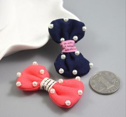 Pet Grooming Hair Clipper Dogs Cats Clips Dog Hairpin Dog Hair Bows Pearl bubble bowknot ornaments