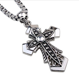 2016 Cross Necklaces Hiphop Long Necklaces for men women Cross Pandents Necklaces Jewelry Christian Men's Accessories gift