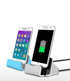 Wholesale Charger Docking Stand Cradle Sync Dock Miro USB Charging Station For Samsung S6 edge Note XiaoMi LG For Android Phones