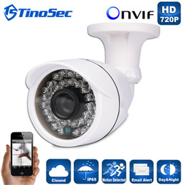 Wholesale IP Camera P P P MP MP MP Outdoor Waterproof Bullet Night Version IR mm Lens P2P ONVIF ABS Plastic Housing