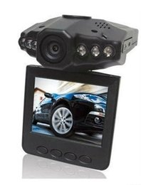 Wholesale H198 Car DVR car camera with night vision six light vehicle driving recorder