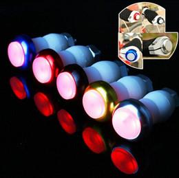 Bike Turn Signal Light Handle Bar LED Plug Red Light Safety Bicycle LED Turn Light 2pcs Each Pair Retail Package