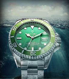 AAA luxury brand automatic watch men's mechanical dive watches Sapphire Glass Ceramic Bezel Stainless wristwatch 102