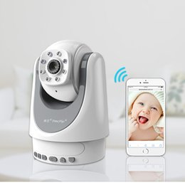 Video Wireless baby monitor WiFi with camera remote control safety monitor babyfoon camera fetal doppler Temperature Monitoring