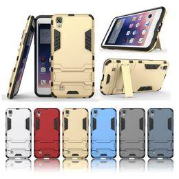 Wholesale For LG V20 Iron Man Case Hybrid in1 Armor Defender Robot Kickstand Case for LG stylus LS775 LG X Power armor case