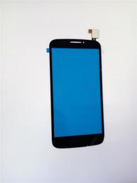 Wholesale For Alcatel One Touch POP C7 OT D X Black White Touch Screen Digitizer Glass Lens Panel Parts