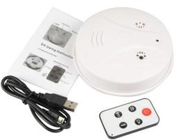 Motion Detection Mini DV video recorder New 720x480P Mini Smoke Camera Detector model Dvr Pinhole DV Remote Control