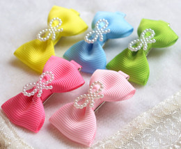 Pet dog hair accessories wholesale Teddy general hairpin flower head hair bow clip Dog accessories 30pcs