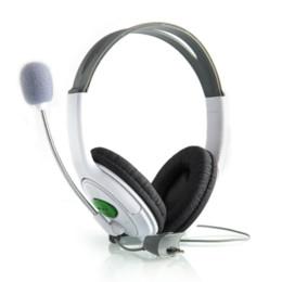 Acheter en ligne Casque stéréo xbox-Live Big casque d'écoute avec microphone pour XBOX pour 360 pour Xbox pour 360 Slim NOUVEAU