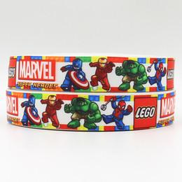 ribbon 7 8inch 22mm 160405018 super heroes toy webbing grosgrain ribbon webbing 50yards roll for sport hair tie