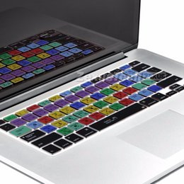 Wholesale Adobe Photoshop Illustrator Keyboard Shortcut Design Functional Silicone Cover For Macbook Pro Air Protector Sticker