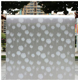 Wholesale Tint frosted window sticker is not transparent bathroom toilet paper shading insulation is prevented bask in the balcony
