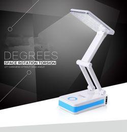 Wholesale reading light Folding LED desk reading light folding tablet lamp Dream LED table Dimmable desk lamp CA1391