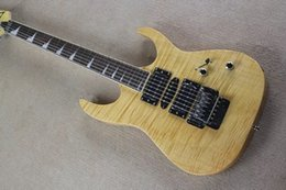 Free Shipping Brand High Quality New Electric Guitar Musical Instrument With Tiger Flame Maple Top In Original Color