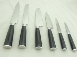Wholesale Low Freight Discount Damascus Knives Complete Set With Factory Price Drop Shipping Allow OEM ODM Service