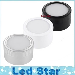 Wholesale 9W W W Led Surface Mounted Downlight Dimmable Led Down Lights Kitchen Cabinets Lighting AC V Inside Drivers