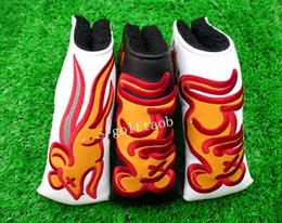 Wholesale 2016 the newest fashion brand Golf headcover TOUR rat headcovers top quality PU Golf headcover with colors putter headcover