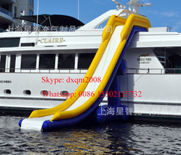 Wholesale 2016 factory customized gaint inflatable water slide inflatable water park slide for adults and kids