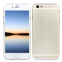 Wholesale New Cheap inch Goophone i6s G GSM Unlocked Smartphone Quad Core MTK6582 MB GB GB Android KitKat GPS WiFi Play Store Smartphone