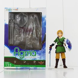 The Lengend Of Zelda Link with Skyward Sword Figma 153 PVC Action Figure Collection Model Kids Toy