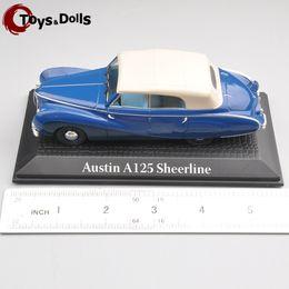 Wholesale 1 NOREV Atlas Austin A125 Sheerline Scale Model Mini Fashion Blue Diecast Car for Adult Collectors Kids Toys