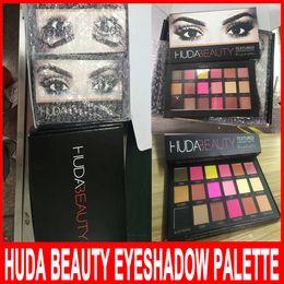 Wholesale HUDABEAUTY TEXTURED we knew the palette rose gold edition colors huda eye shadow makeups eyes huda besuty