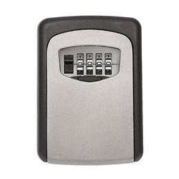 Combinaison Key Storage Organizer Boîtes de 4 chiffres Mot de passe Monté Metal Safe Salle de jeu Escape Props Reset Code Lock à partir de clés les mots de passe fabricateur