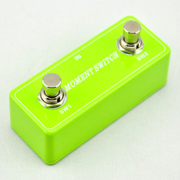 2016 NEW GUITAR Moment Foot Switch DUAL 2 CHANNEL Green FOOTSWITCH AMPLIFIER
